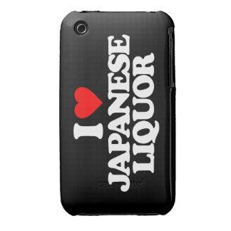 I LOVE JAPANESE LIQUOR iPhone 3 CASE