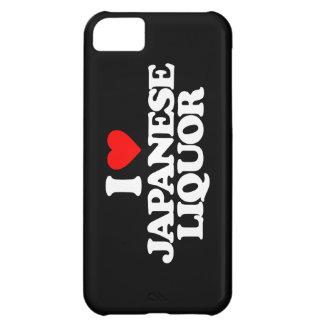 I LOVE JAPANESE LIQUOR iPhone 5C COVERS