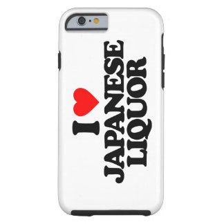 I LOVE JAPANESE LIQUOR TOUGH iPhone 6 CASE