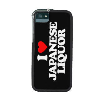 I LOVE JAPANESE LIQUOR iPhone 5/5S COVER