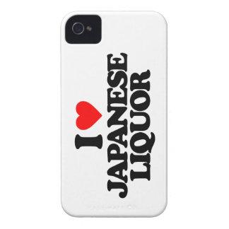 I LOVE JAPANESE LIQUOR iPhone 4 Case-Mate CASES