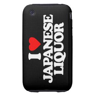 I LOVE JAPANESE LIQUOR TOUGH iPhone 3 COVERS
