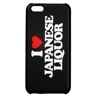 I LOVE JAPANESE LIQUOR iPhone 5C COVER