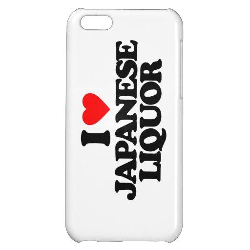 I LOVE JAPANESE LIQUOR iPhone 5C CASE