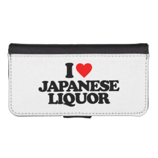 I LOVE JAPANESE LIQUOR iPhone 5 WALLET CASE
