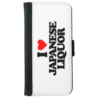 I LOVE JAPANESE LIQUOR iPhone 6 WALLET CASE