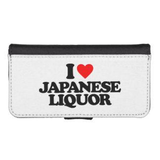 I LOVE JAPANESE LIQUOR iPhone 5 WALLET CASE