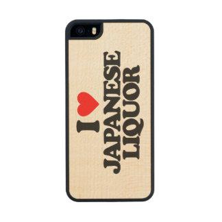 I LOVE JAPANESE LIQUOR CARVED® MAPLE iPhone 5 CASE