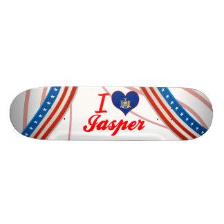 I Love Jasper, New York Skate Board