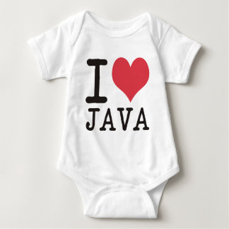I Love JAVA - KETCHUP - KITTY Products & Designs! Baby Bodysuit