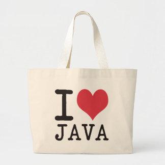 I Love JAVA - KETCHUP - KITTY Products & Designs! Jumbo Tote Bag