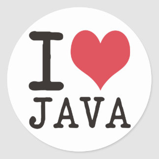 I Love JAVA - KETCHUP - KITTY Products & Designs! Sticker