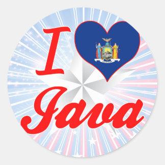 I Love Java, New York Sticker