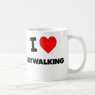 I Love Jaywalking Coffee Mug
