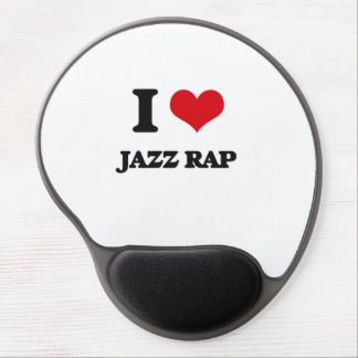 I Love JAZZ RAP Gel Mouse Pad