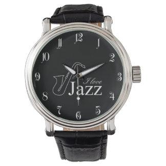 I love jazz watch