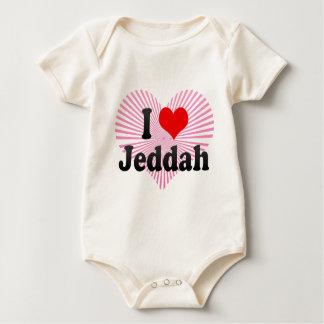 I Love Jeddah, Saudi Arabia Baby Bodysuit