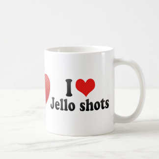 I Love Jello shots Coffee Mugs