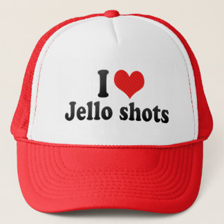 I Love Jello shots Trucker Hat
