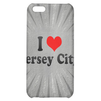 I Love Jersey City, United States iPhone 5C Cover