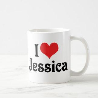 I Love Jessica Coffee Mug