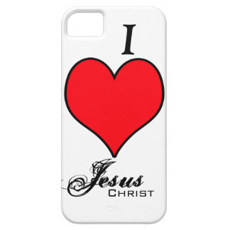 I LOVE Jesus Christ Case For The iPhone 5
