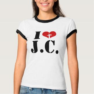 I Love Jesus Christ T Shirts