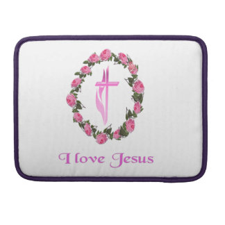 I love Jesus gifts Sleeve For MacBooks