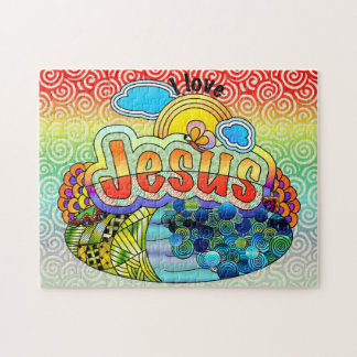 I Love Jesus Jigsaw Puzzle