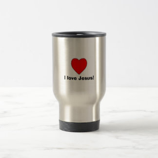 I love Jesus! Travel Mug
