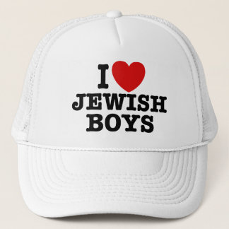 I Love Jewish Boys Trucker Hat