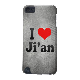 I Love Ji'an, China iPod Touch (5th Generation) Cases