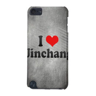 I Love Jinchang, China iPod Touch 5G Case