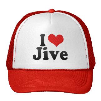 I Love Jive Mesh Hat