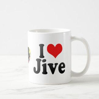 I Love Jive Coffee Mugs