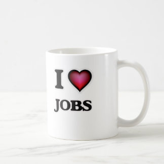 I Love Jobs Coffee Mug