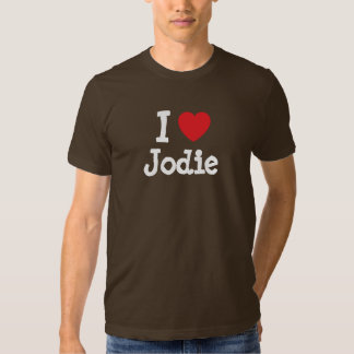 I love Jodie heart T-Shirt