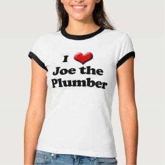 I Love Joe the Plumber T-Shirt