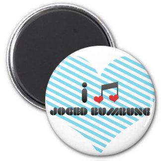 I Love Joged Bumbung Fridge Magnets