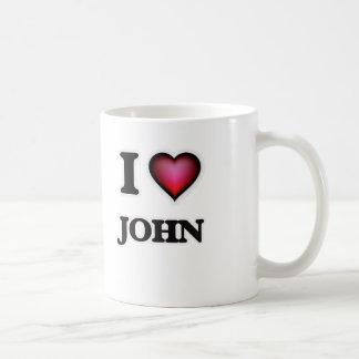 I Love John Coffee Mug