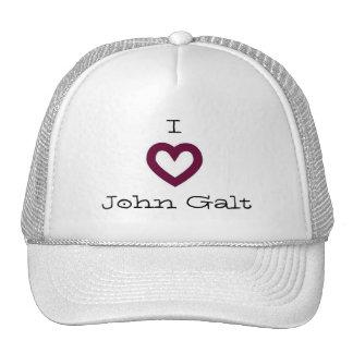 I Love John Galt Cap