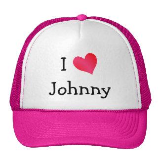 I Love Johnny Cap