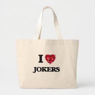 I Love Jokers Jumbo Tote Bag
