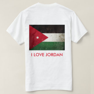 I Love Jordan Flag T-shirt