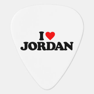 I LOVE JORDAN GUITAR PICK