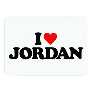 I LOVE JORDAN CUSTOM ANNOUNCEMENT