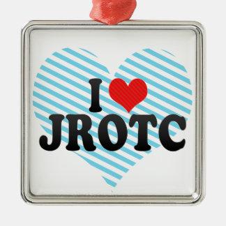 I Love JROTC Metal Ornament