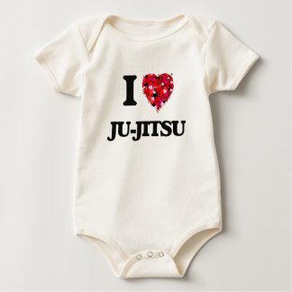 I Love Ju-Jitsu Bodysuit