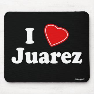 I Love Juarez Mouse Pad