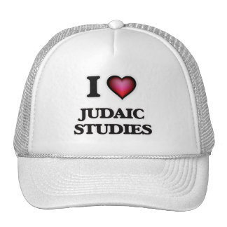 I Love Judaic Studies Cap